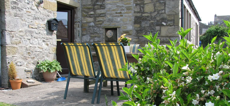 Sunnyside Cottage Patio, Grassington